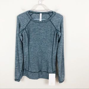 Lululemon Race Your Pace Long Sleeve Fuel Green